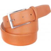 Gurtel Leder Orange C65 - Orange Größe 95
