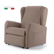 KSP Italia Poltrona Relax Elettrica A 3 Motori Elevabile E Reclinabile
