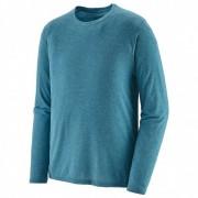 Patagonia - L/S Cap Cool Trail Shirt - T-shirt technique taille S, turquoise/bleu