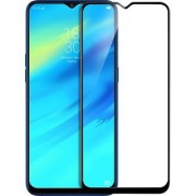 Oppo Realme 2 Pro Black 5D Tempered Glass Standard Quality