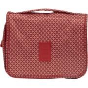 EZ Life Travel Cosmetics/Toiletries Kit - Red Stars Travel Toiletry Kit(Red)