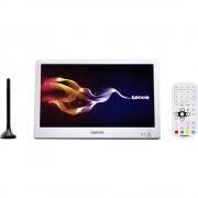 """Lenco TFT-1028 blanc Prijenosni TV 25.4 cm 10 """" Uklj. 12V auto kabel za napajanje, Uklj. DVB-T antena Bijela"""