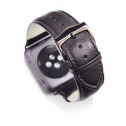Dbramante1928 Horlogeband dbramante1928 Copenhagen Watch Strap 38mm Space Grey/Black