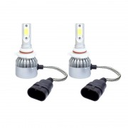 Kit 2 led-uri auto HB3 9005 C6, 48 W, 6000K, 3800 lm