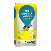 Glet de finisaj pe baza de rasini - Weber N19 - 20 KG
