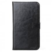 A-335 Elegante Flip-Open PU Leather Case / Stand para Samsung Galaxy Nota 2 / N7100 - Negro