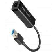 Placa retea AXAGON ADE-SR USB 3.0 Gigabit Ethernet Lungime Cablu 15cm Black