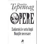 Opere 2 Zadarnica e arta fugii. Nuntile necesare/Dumitru Tepeneag