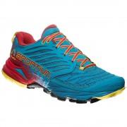 La sportiva Pánské Trailové Boty La Sportiva Akasha Tropic Blue/cardinal Red