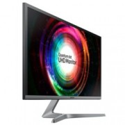 "Монитор Samsung U28H750U (LU28H750UQUXEN), 27.9"" (70.88 cm) QLED TN панел, 4K Ultra HD, 1ms, Mega Infinity DCR, 300 cd/m2, 1x DisplayPort, 1x HDMI"