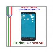 Scocca Housing Telaio Frame Cornice per Samsung Galaxy S2 I9100 GT