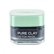 L´Oréal Paris Pure Clay Detox Mask maschera viso detergente intensiva 50 ml