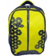 Inway Stylish Waterproof Travel 20 L Backpack(Yellow)