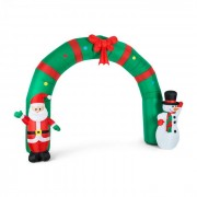 OneConcept MERRY WELCOME CHRISTMAS надуваема декорация 250CM LED (LEL3-Merry-Welcome)