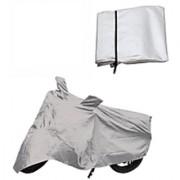 Hero Splendor Pro Bike Body Cover Silver Color
