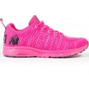 Gorilla Wear Brooklyn Knitted Sneakers - Pink/White - 40