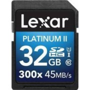Card de memorie Lexar Platium SDHC 32GB Class 10 300x UHS-I