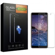 Adoniss Premium Tempered Glass Mobile Screen Protector for Nokia 7 Plus