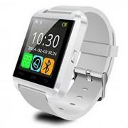 Bluetooth Smart Watch con pantalla de la camara para Android? IOS - Blanco