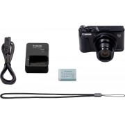 Canon »PowerShot SX740 HS« Kompaktkamera (20,3 MP, 40x opt. Zoom, Bluetooth, WLAN (Wi-Fi), schwarz