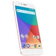 """Xiaomi Mi A1 14 cm (5.5"""") 4 GB 64 GB SIM Dual 4G Oro Rosado, Blanco 3080 mAh Smartphone (14 cm (5.5""""), 1920 x 1080 Pixeles, 4 GB, 64 GB, 12 MP, Oro Rosado, Blanco)"""