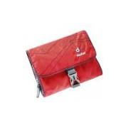 Necessaire Viagem Academia Com Cabide Gancho Deuter Wash Bag 1 Vermelha Robusta