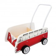 Hape Classical Bus T1 Walker Red E0379