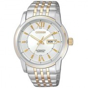 Citizen Analog White Dial Unisex Watch - NH8331-53A