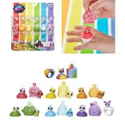 Littlest Pet Shop - RAINBOW FRIENDS PLAYSET by Hasbro - A Super-Colorful Pet Collection to Wear and Play With On The Go