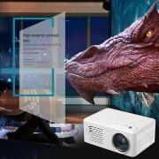 EH Hogar HD 1080P LED Proyector portátil multimedia Cine Teatro