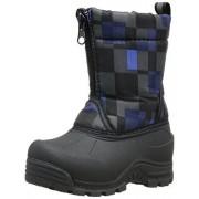 Northside Icicle Cold Weather Unisex Boot (Toddler/Little Kid/Big Kid), Black/Royal, 1 M US Little Kid