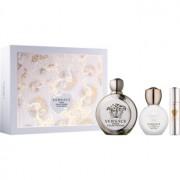 Versace Eros Pour Femme coffret XIII. Eau de Parfum 100 ml + Eau de Parfum 10 ml + leite corporal 100 ml