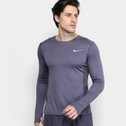 Camiseta Nike Dri-Fit Miler Manga Longa Masculina - Masculino
