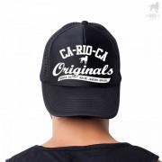 CA-RIO-CA Originals Trucker Hat Black CRC-H1091