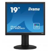 iiyama 19' 1280x1024, 13cm Height Adj. Stand, Pivot, Speakers, VGA, DVI, 250cd/m², >12mln:1 ACR, 5ms, TCO