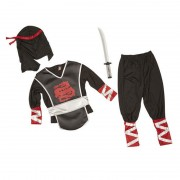 Costum de carnaval Ninja Super Melissa and Doug, 3 ani+