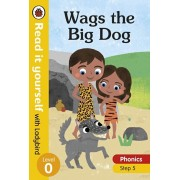 Wags the Big Dog - Read it yourself with Ladybird Level 0: Step 5, Hardback/***