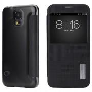 Страничен тефтер Rock за Samsung Galaxy S5/S5 Neo черен