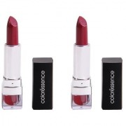 Coloressence Mesmerising Lip Color (Poetry Pink) LC-8 Pack of 2 Lipsticks