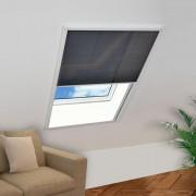 vidaXL Rede anti-insectos de alumínio para janela 160 x 110 cm