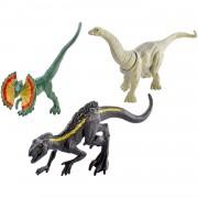 Set 3 figurine Jurassic World Mini Dinozauri Action