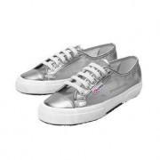 Leisure Superga® Metallic Mesh Sneakers, 6 - Silver Metallic