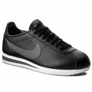 Обувки NIKE - Classic Cortez Leather 749571 011 Black/Dark Grey/White