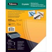 Copertine in PVC per rilegatura Fellowes A3 180 my trasparente 53764 (conf.100)