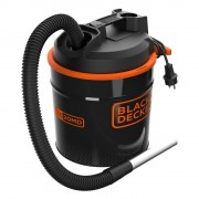 Aspirator cenusa cu functie de suflare si filtru HEPA 900W Black+Decker - BXVC20MDE