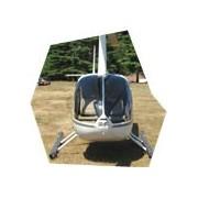 Vyhlídkový let vrtulníkem Robinson, , 3 osoby, 60 minut