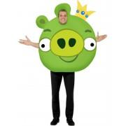 Zöld Angry Birds jelmez Férfiaknak M-es méret