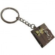 Utkarsh Unisex Couple Photo Album Metallic Toy Key Ring/Keychain For Bikes/Scooty/Cars (Copper)