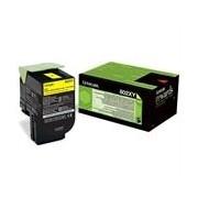 Lexmark 802XY (80C2XY0) toner amarillo XXL
