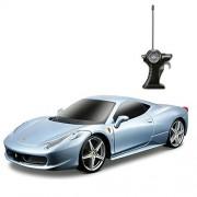 Maisto R/C Ferrari 458 Italia 1/24 Sky Blue -EduToys